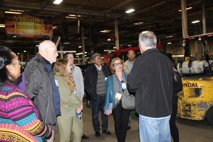 Icca Conference Attendees Take Pioneer Industries Tour