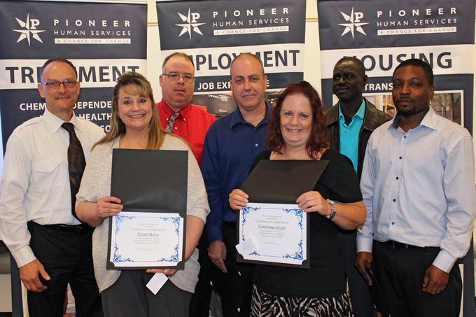 Roadmap to Success Job training Program Graduates