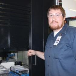 Sean Masters, Pioneer's First AJAC Apprenticeship Graduate